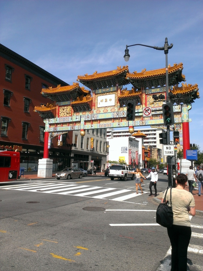 This is as deep into Chinatown as we got, unfortunately.